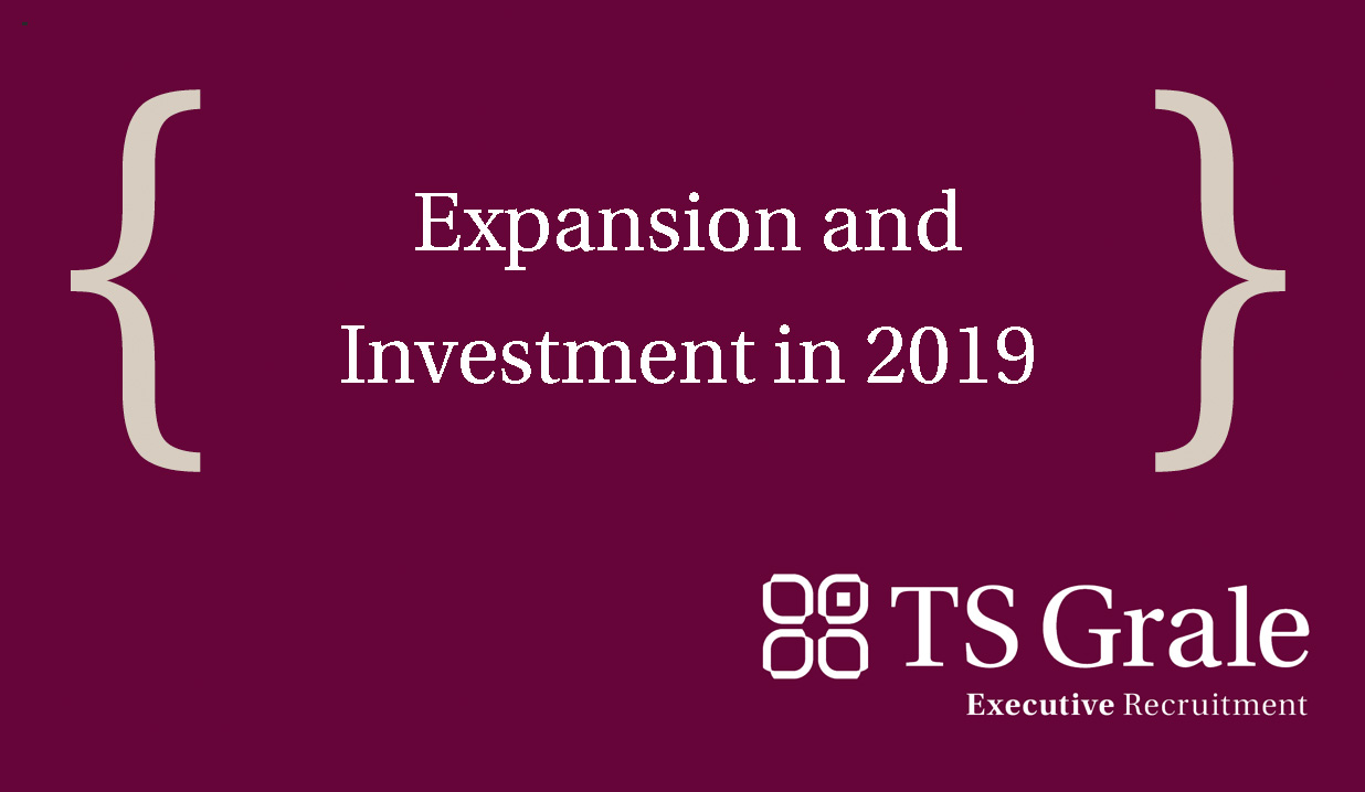 Expansion and Investmentin 2019